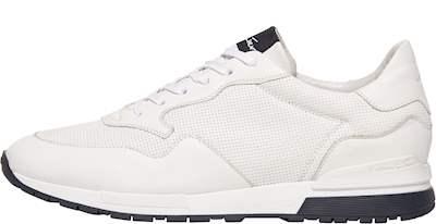 6fbaf26d504b81 Witte sneaker in combi leer met fijne print € 149,90 € 129,90